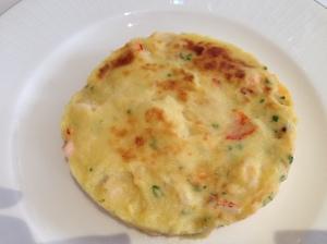 lobster omlette