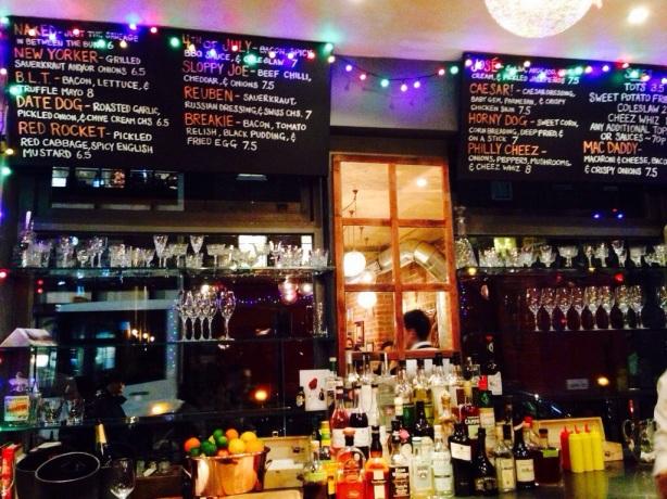 Bar at Bubbledogs