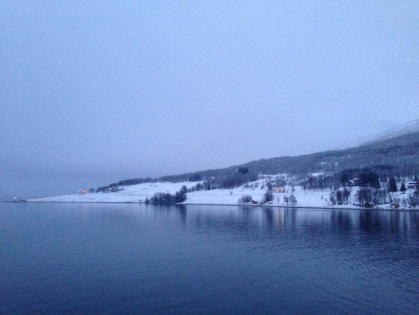 This is not a picture postcard. This is what Norway looks like all the time ... when it's light :)
