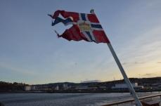 Leaving Trondheim