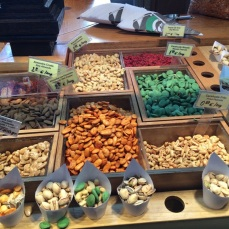 Nuts so many nuts