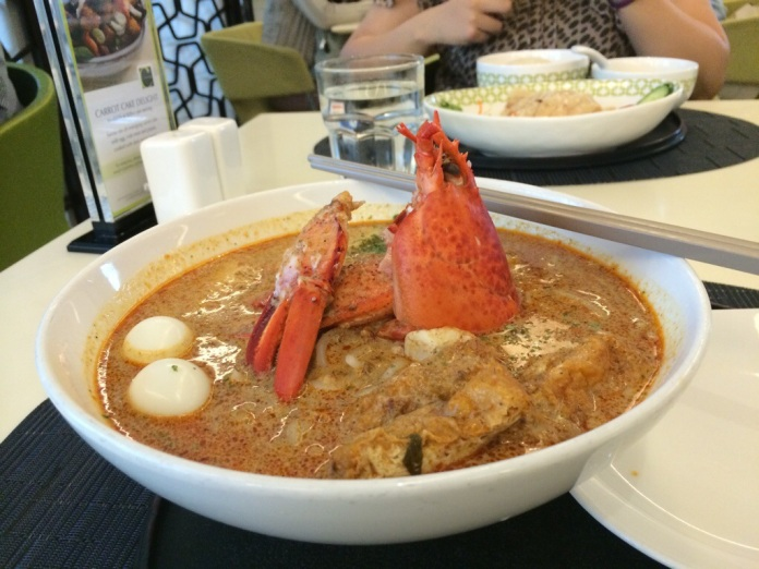 2. Laksa with Lobster