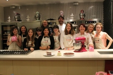 Happy bloggers with Eric and the Kitchen Aid