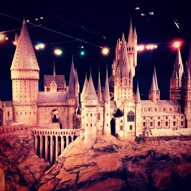 Full scale model of Hogwarts