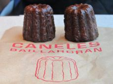 Trying out the famous Caneles