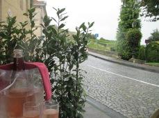 Champagne in St Emilion