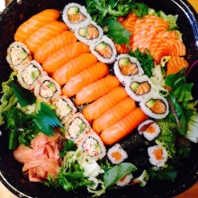 36pc Sushi box