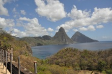 Pitons by day