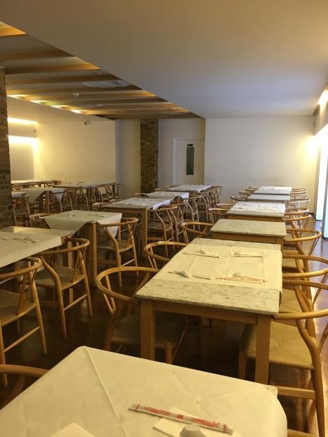 Cafe East interior