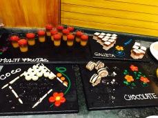 Dessert counters