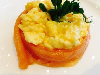 Smoked Salmon & Scrambled eggs