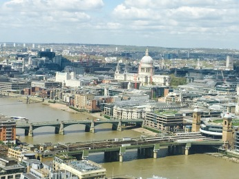 St Pauls in the distance