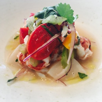 Lobster and Scallop ceviche