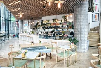 Bar area - Photo courtesy of Leyla Kazim
