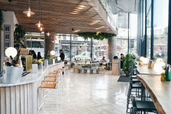 Interior of the cafe - Photo courtesy of Leyla Kazim