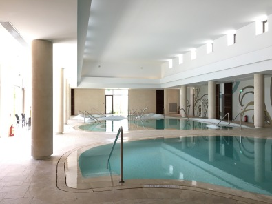 Three spa pools