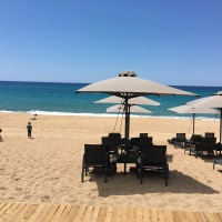 All the family go to Westin Costa Navarino, Greece