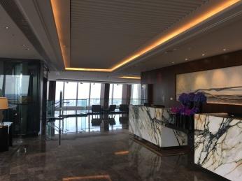 Shangri-La hotel lobby