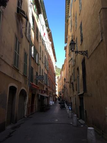Atmospheric old town Nice